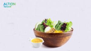 Δροσερή σαλάτα με Πράσινο Μήλο (Βίντεο)